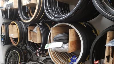 les pneus en stock